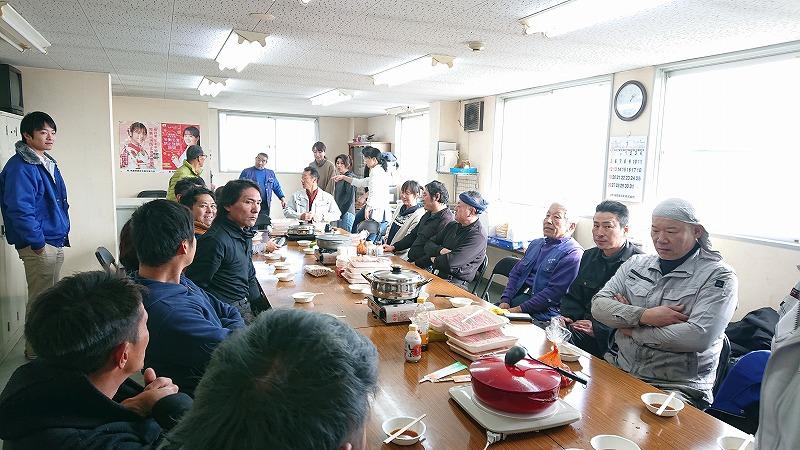 キムチ鍋大会🎊