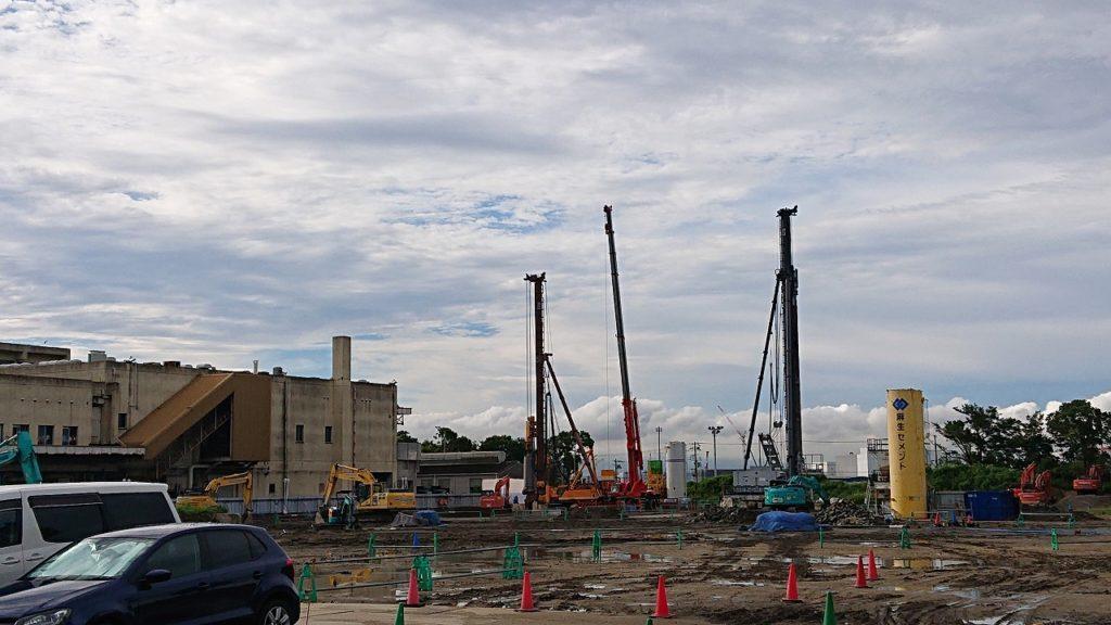 南港🚢大型物件の打ち合わせです💦